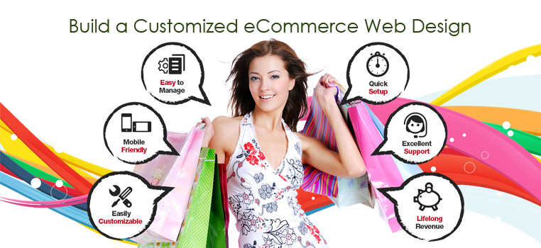 Build a Customized eCommerce Web Design India for the Best Online Shopping Store